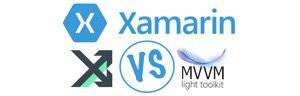 Xamarin : MvvmCross vs MvvmLight